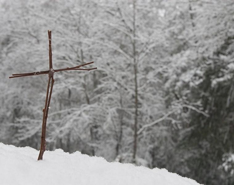 Cross in Snow