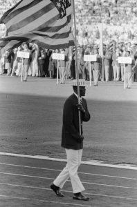 rafer johnson flag bearer