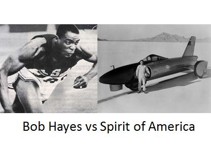 Bob Hayes vs Spirit of America
