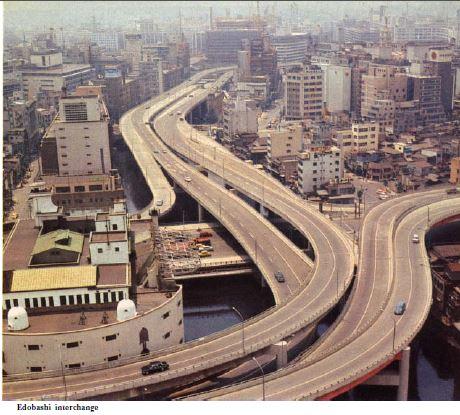 The Edobashi Interchange 1964, from