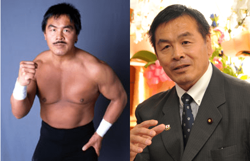 Hiroshi Hase, wrestler and minister
