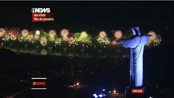2016 New Year Fireworks Rio de Janeiro_ao vivo