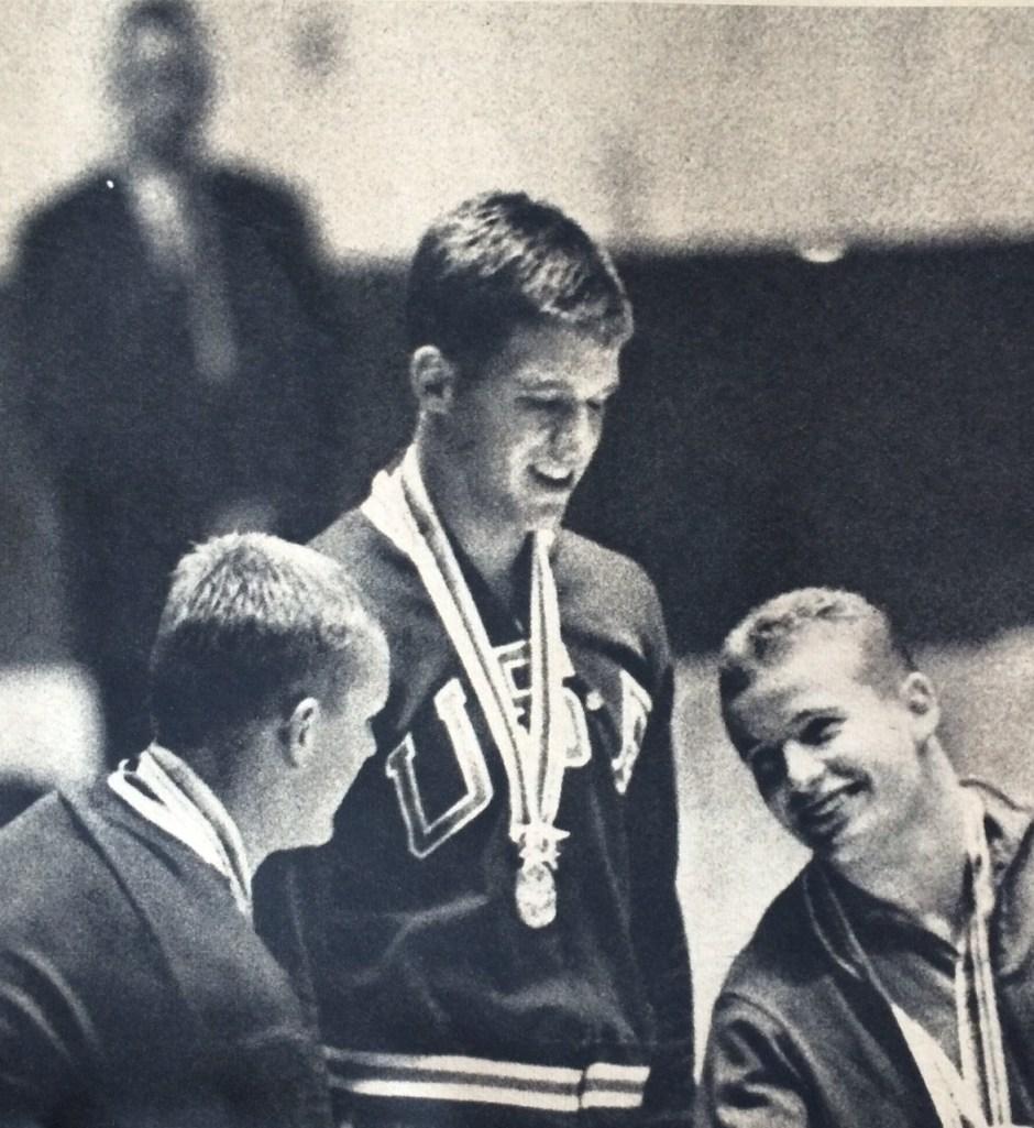 Roth Saari Hetz on the Podium_Asahi Graf_30October1964