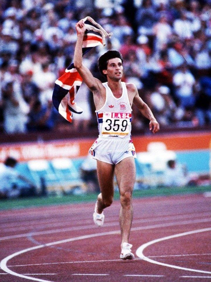 SEbastian Coe wins gold in 1500 in Los Angeles