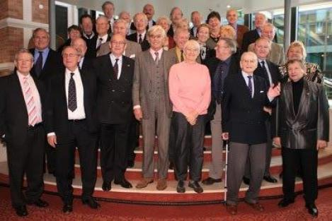 1956 Dutch Olympic Team Rehabilitation lunch at Kurhaus Hotel in Scheveningen