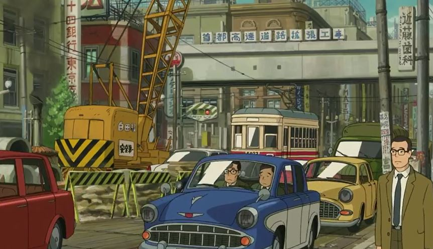 Up on Poppy Hill_construction