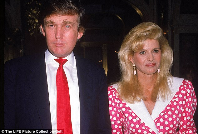 Donald and Ivana Trump