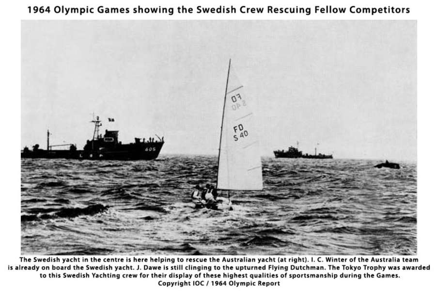 Swedish yacht saves Austrlian yacht