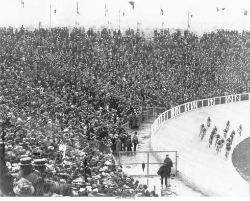 Cycling at White Citsy Stadium_1908