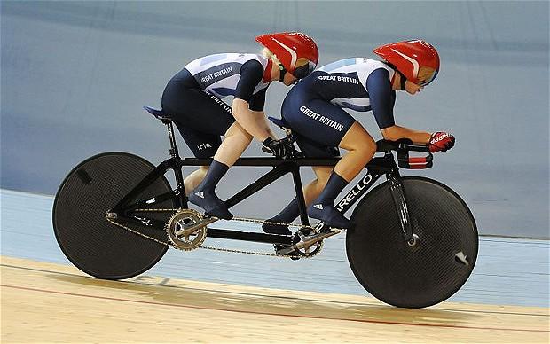 tandem cyclying_Scott and McGlynn