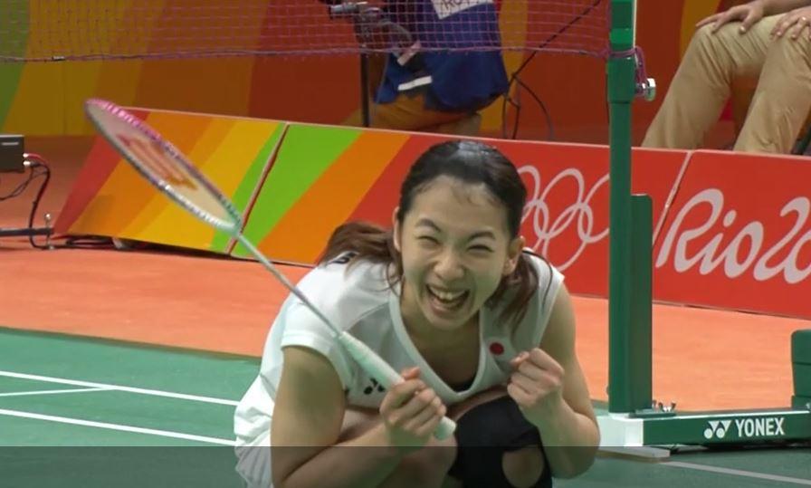Misaki Matsutomo upon victory