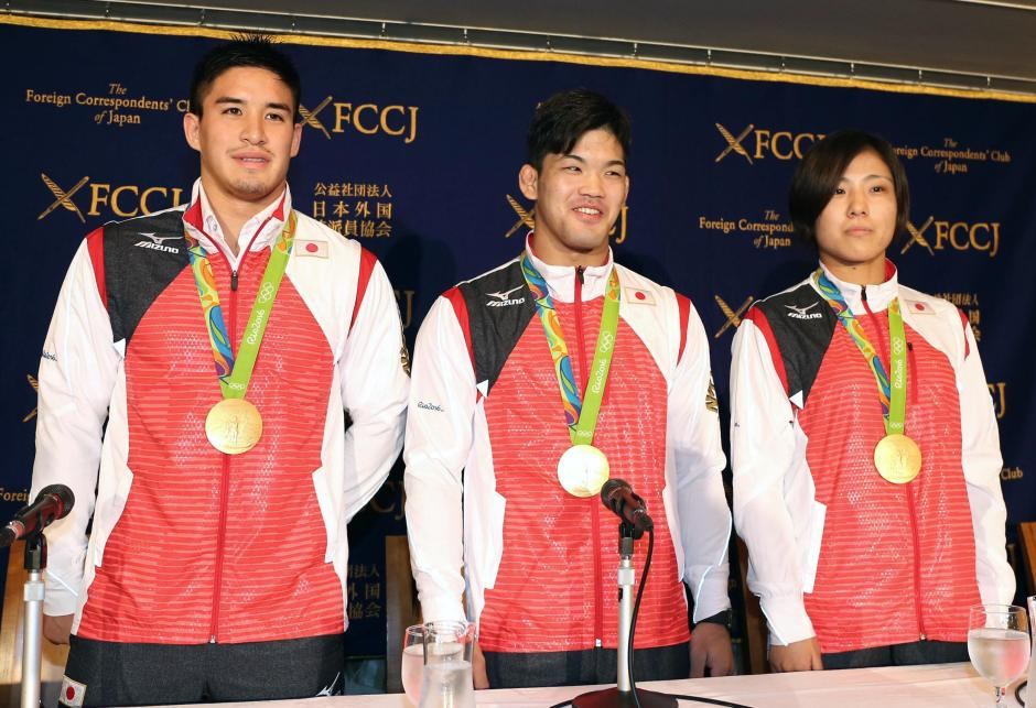 Japan's Judo Gold Medalists