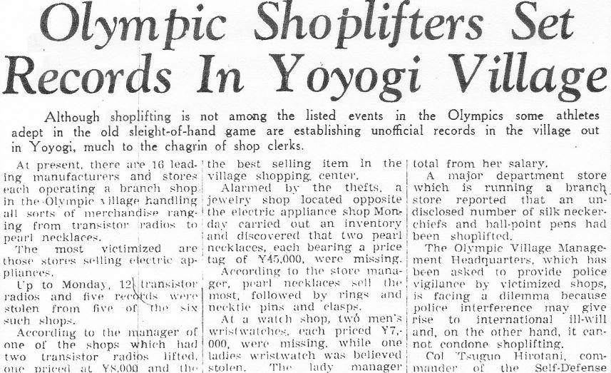 olympic-shoplifters-headline-yomiuri