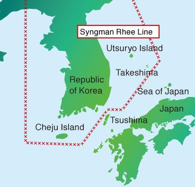 synghman-rhee-line