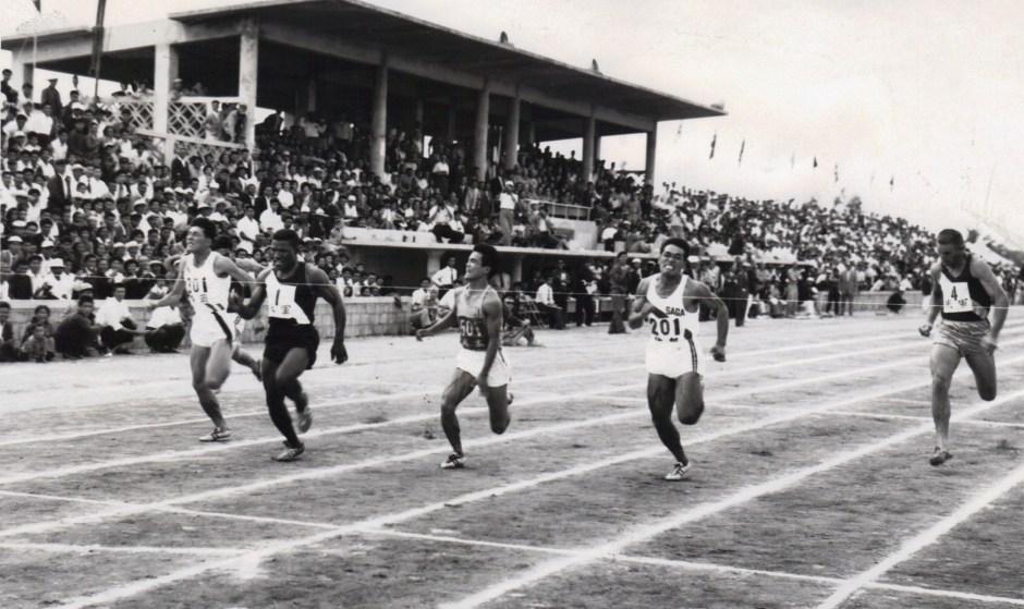 Mel Pender_Winning his first race