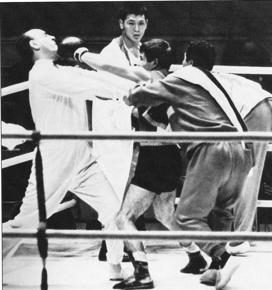 Loren punches referee_The Olympic Century XVIII Olympiad Tokyo 1964