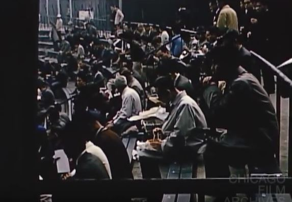 eating bento in the stands_Merz Film