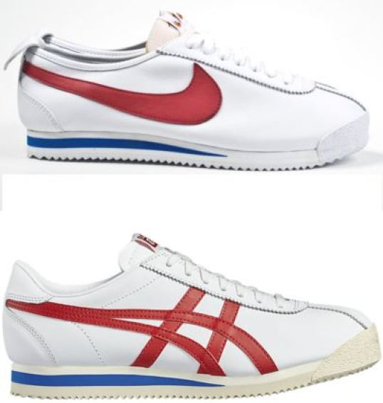 Nike Cortez and Onitsuka Tiger Corsair
