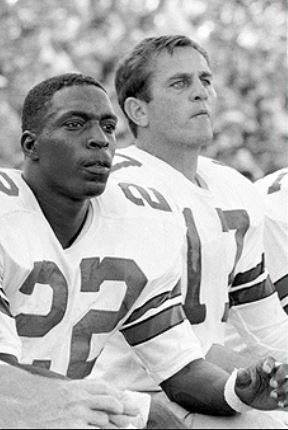 Bob Hayes and Don Meredith