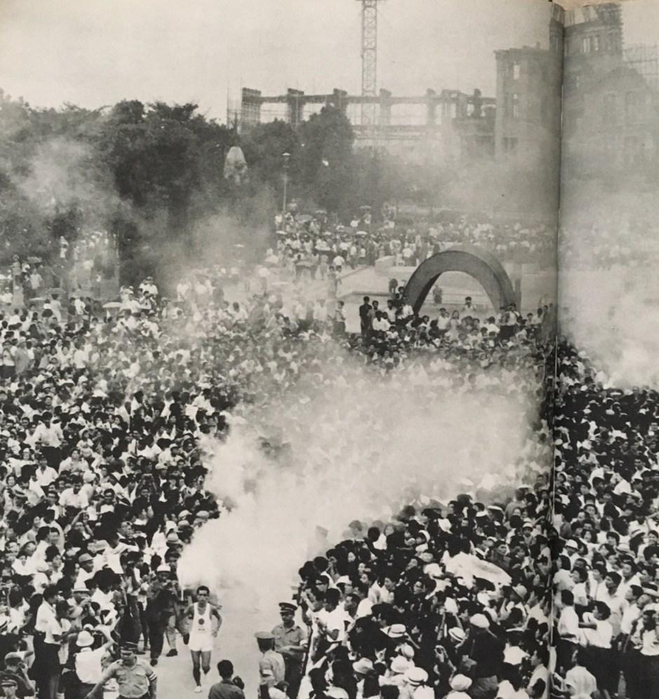 Hiroshima torch relay