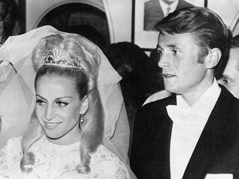Vera Caslavska and Josef Odlozil married