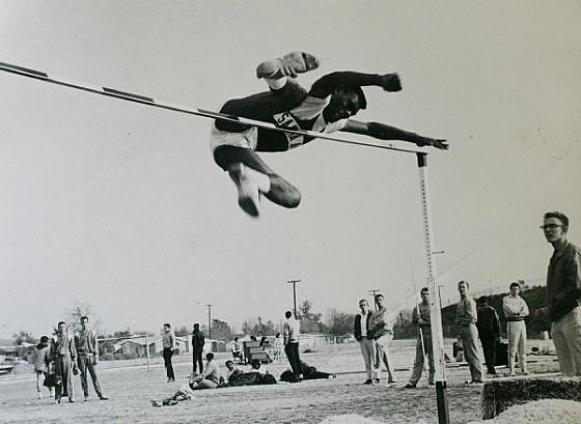 Ed Caruthers at Santa Ana
