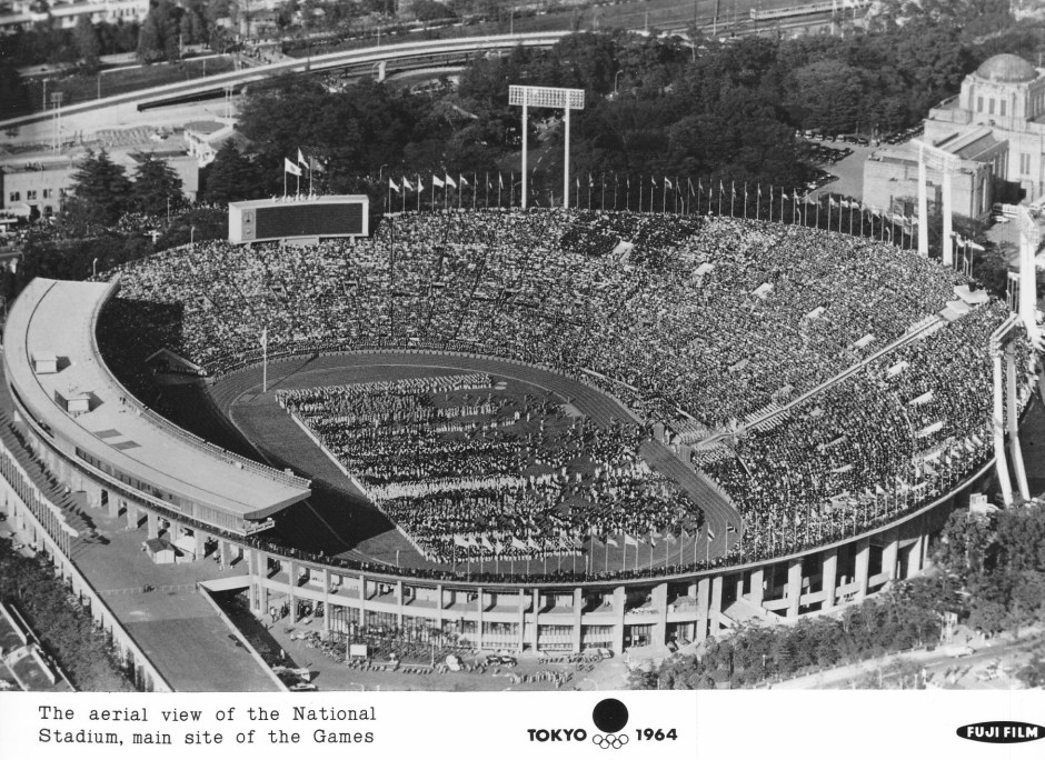 Fuji Film 10_Aerial view of the National Stadium
