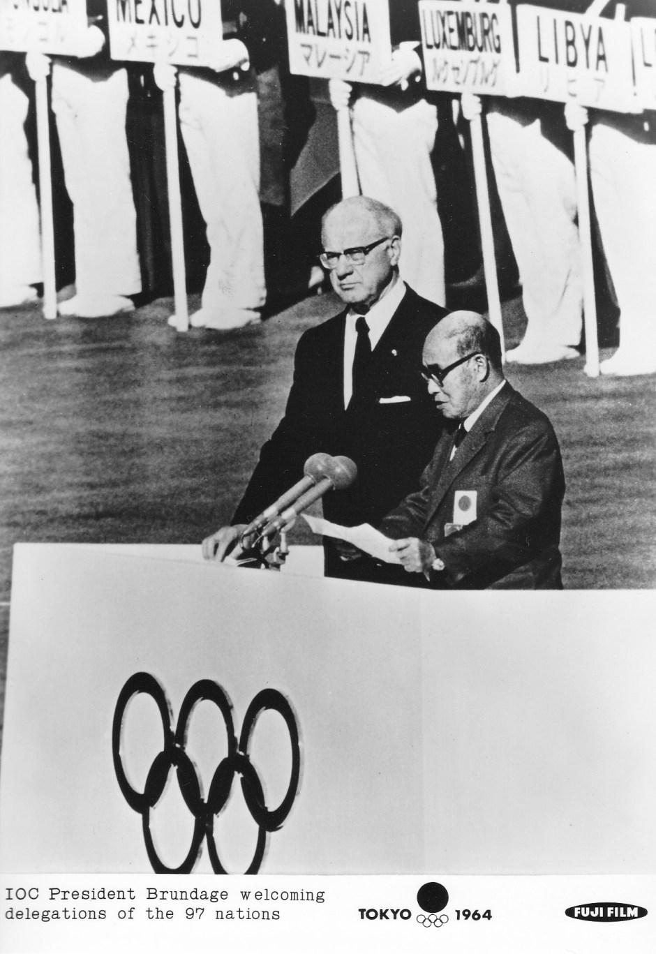Fuji Film 3_IOC President Avery Brundage's Welcome