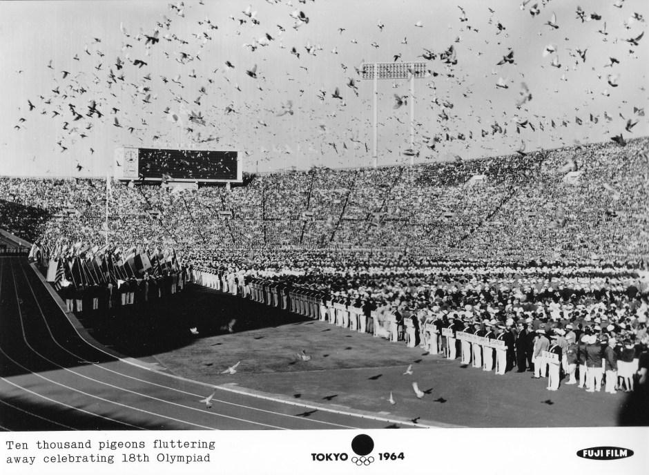 Fuji Film 8_Ten thousand pigeons released