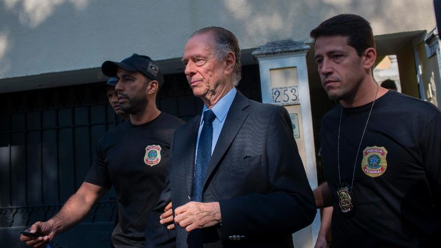 Nuzman under arrest