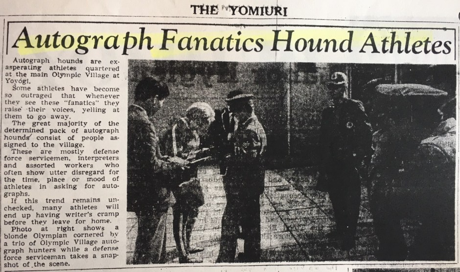 Autograph Hounds_Yomiuri_5Oct64