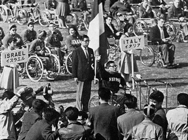 Dr Yutaka Nakamura at the 1964 Tokyo Paralympics 2