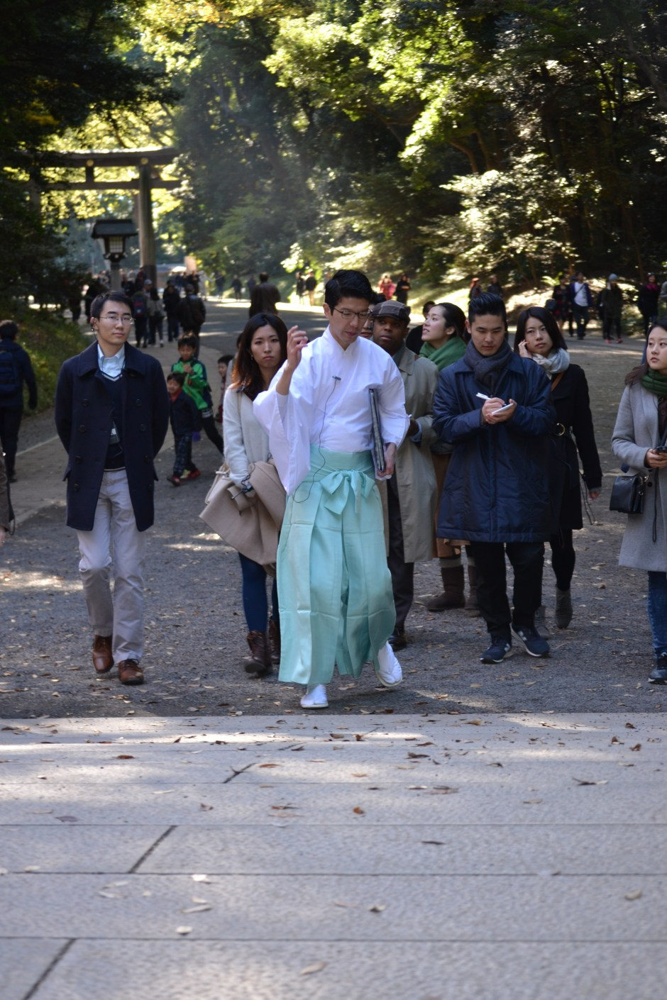 Penn Alumni at Meji Jingu_25Nov_8