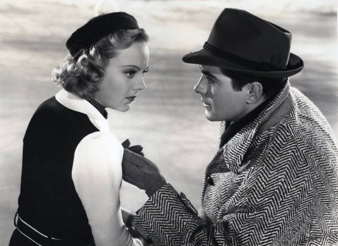 Sonja Henie and Tyrone Power in The Second Fiddle