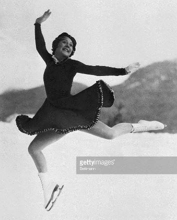 Sonja Henie_1936 Garmisch-Partenkirchen Olympics