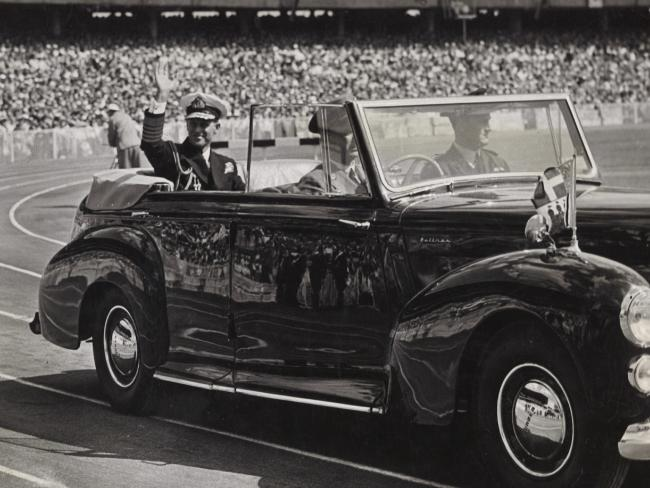 Prince Philip at the Melbournce Olympics