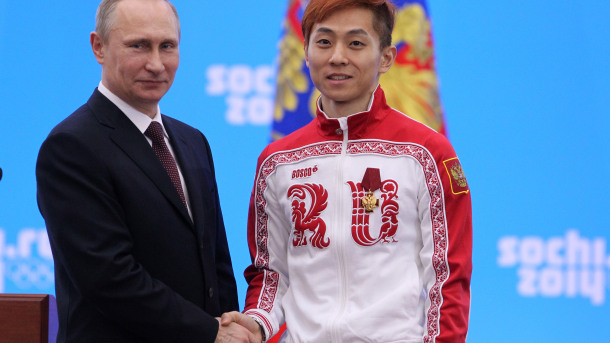 President Vladimir Putin Honours Russian Olympic Athletes