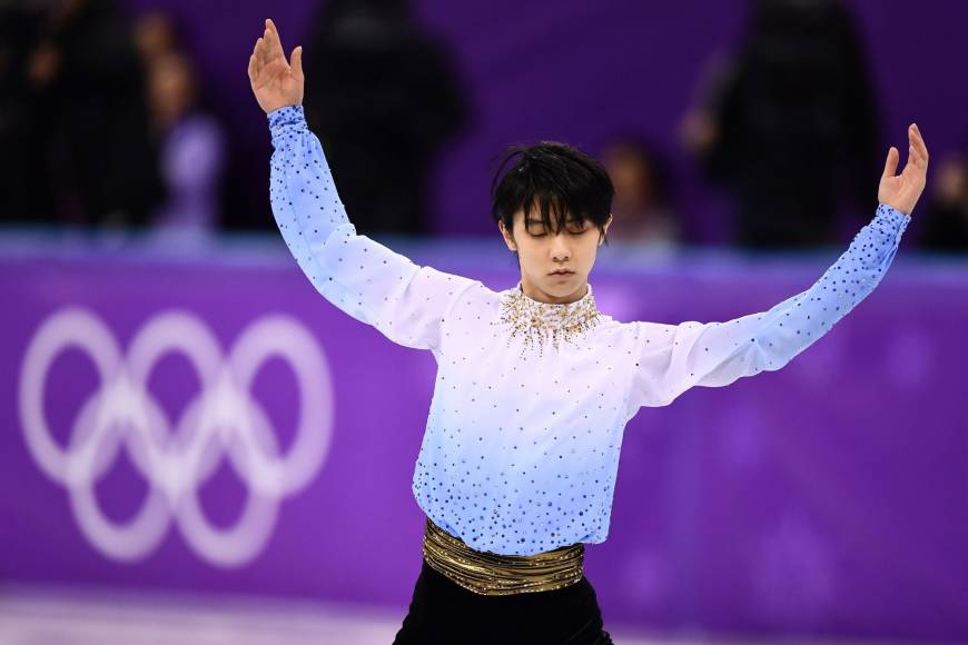 Yuzuru Hanyu PyeongChang short program 1