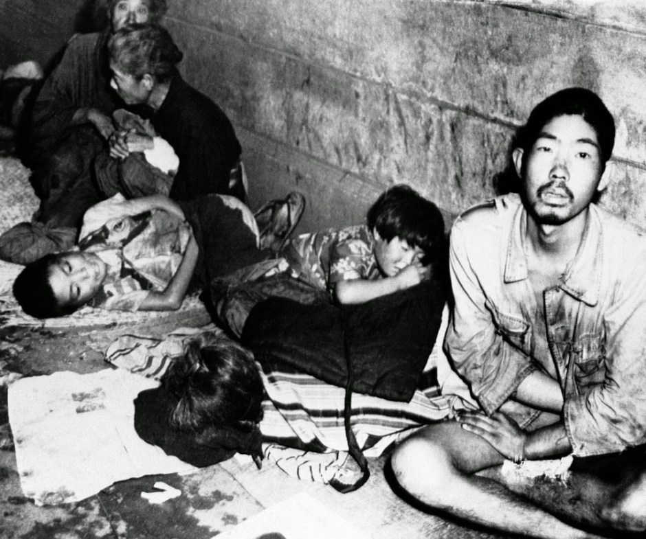 homeless in postwar japan