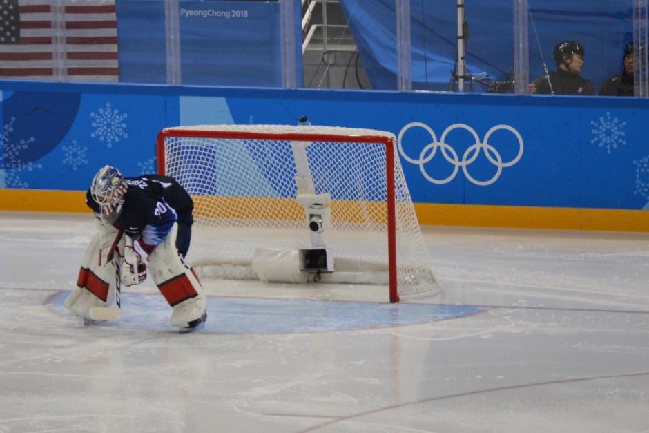 USA vs Slovakia_Ryan Zapolski goaltender