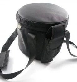 "Crystal Singing Bowl Carrying Case - Black - Large 13"" to 16"""