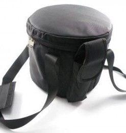 """Crystal Singing Bowl Carrying Case - Black - Medium 10"""" to 12"""""""