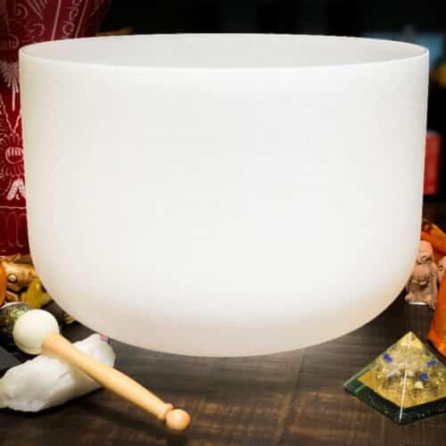 Crystal Singing Bowl The oM SHoppe