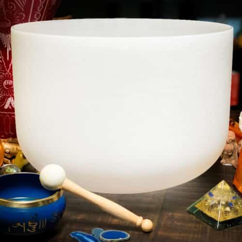 G crystal singing bowl