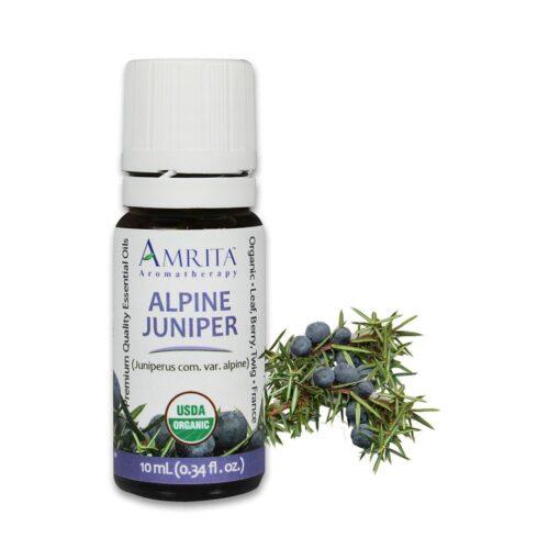 Alpine Juniper - Organic Essential Oil-5mL By Amrita Aromatherapy