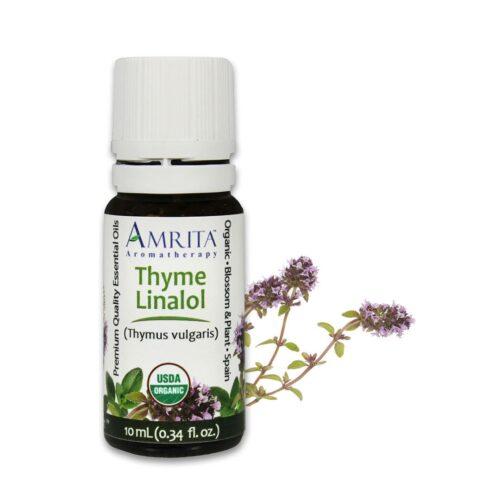 Amrita Essential Oil Thyme Linalol - Organic EO-10mL