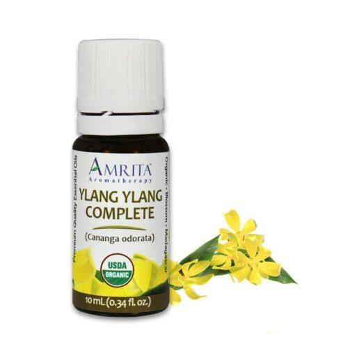 Amrita Essential Oil - Ylang Ylang Complete - Organic EO-10mL at The OM Shoppe in Sarasota, FL