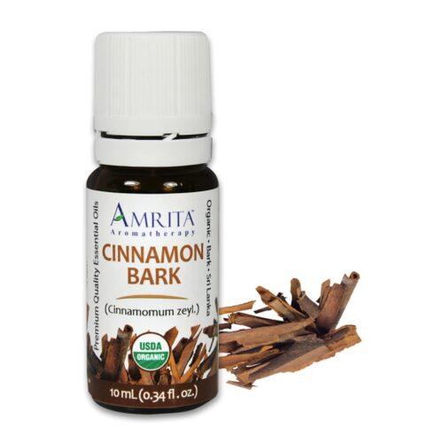 Amrita Essential Oil Cinnamon Bark - Organic EO-5mL at The OM Shoppe in Sarasota, FL