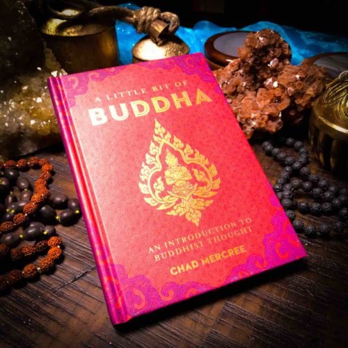 A little bit of buddha book with Mala beads