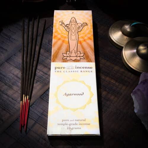 Pure Incense Agarwood The Om Shoppe